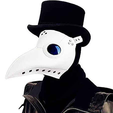 quanzhoufuhe Máscara de Doctor de la Plaga Halloween, Disfraz de ...