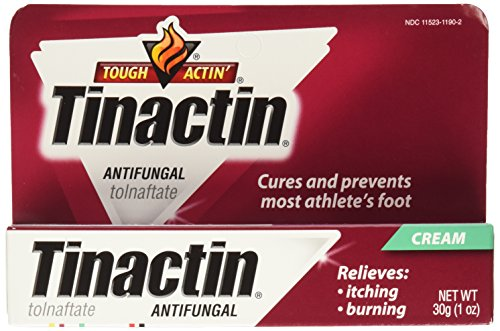 Tinactin Antifungal Cream for Athlete's Foot, 1-Ounce Tubes (Pack of 2)