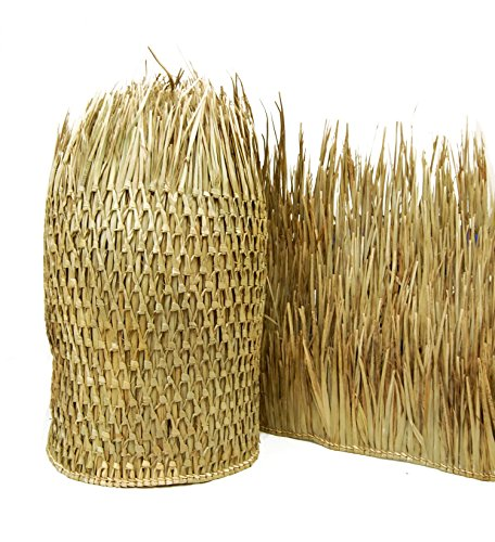 Backyard X-scapes Mexican Palm Thatch Runner Roll, 35in H x 60ft L