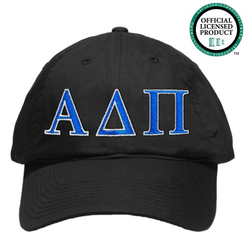 Alpha Delta Pi (AD Pi) Embroidered Nike Golf Hat, Various Colors