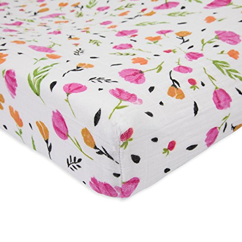 - Little Unicorn Cotton Muslin Changing Pad Cover - Berry & Bloom