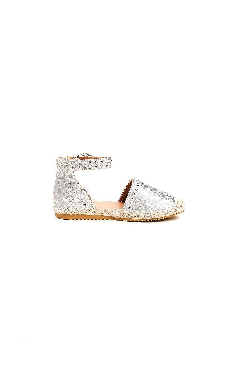 IKRUSH Womens Steffi Studded Espadrille Sandals