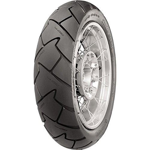 Continental Conti Trail Attack 2 - Adventure Touring/Dual Sport - Rear - 130/80HR-17 , Position: Rear, Rim Size: 17, Tire Application: All-Terrain, Tire Size: 130/80-17, Tire Type: Dual Sport, Load Rating: 65, Speed Rating: H, Tire Construction: Radial 02 by Continental