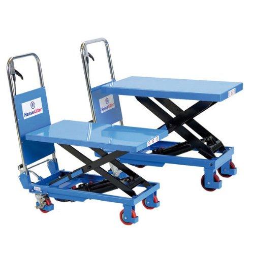 Scherenhubtischwagen manuell,Hydraulikpumpe,PU-Rollen,Tragfähigkeit: 300kg