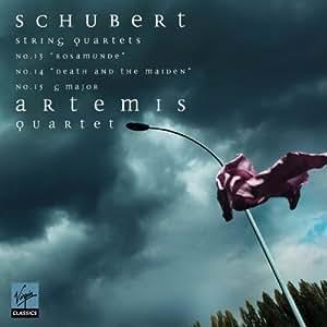 "Schubert String Quartets: No.13 ""Rosamunde"", No.14 ""Death and the Maiden"", No.15 G Major"
