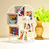 Bazaar 5 Inch Rotating Ferris Wheel Photo Frame Swing Sets Creative Double-Sided For Memorial Gift Frame