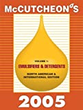McCutcheon's Emulsifiers and Detergents : North American and International Editions, , 1933430028