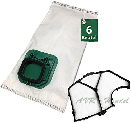 6 Bolsas de aspiradora tipo VS 145 y filtro de protección del ...
