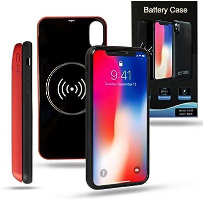 Amazon.com: nvess Apple carcasa de batería iPhone X estuche ...