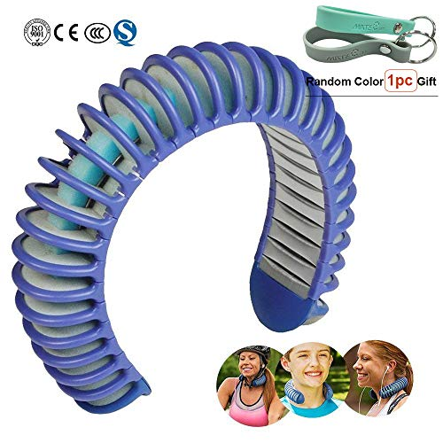 Body Cooling System - Neck Cooling Lower Body Temperature with Natural Cooling System,Used for Exercise and Fitness,Hot Day On The Job,Outdoor Recreation,Gardening and Yard Work,Adult and Kids