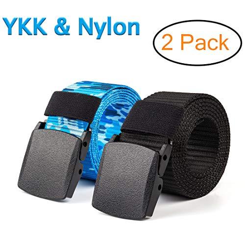 [해외]잉커우 남자의 우연한 화포 군 전술 상 벨트 여행 조정 가능한 나일론 웹 활 주 벨트 / Yingoivat Men`s Casual Canvas Military Tactical Belts Travel Adjustable Nylon Web Slide Belt