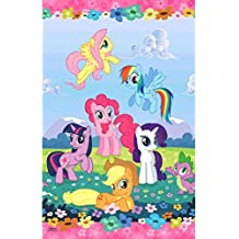"Amscan My Little Pony Table Cover, 54"" x 96"", Party Supplies"