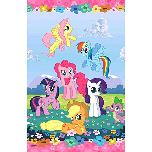 Amscan My Little Pony Table Cover, 54