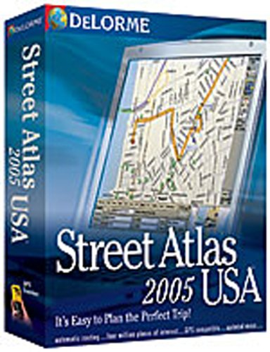 Delorme Mapping Street Atlas USA 2005 Earthmate Gps Receiver