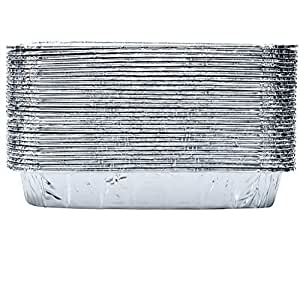 Amazon Com Set Of 30 Disposable Aluminum Replacement Bbq