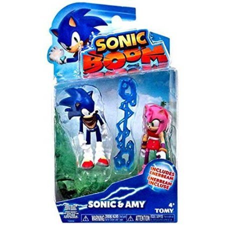 Sonic The Hedgehog Sonic Boom Sonic & Amy 3' Action Figure 2-Pack
