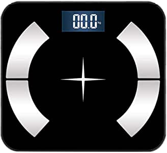 V-OPQ Digital Scale, Accurate Household Weight Scale Simple Appearancewith High Precision Strain Gauge Sensor,for Body Weight Body Composition Analyzer,For Home (Size : Wireless)