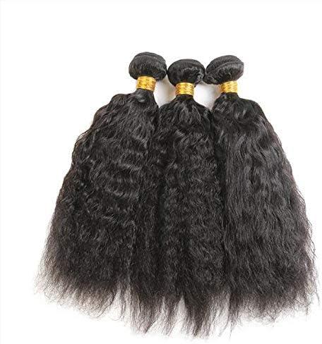 XIAOLUO Europe et États-Unis best-seller Xuchang usine en gros crépus tout droit Brésil vraie trame de cheveux 22 pouces expédition de baisse