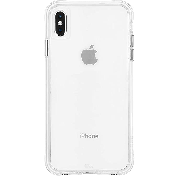 los angeles c0a08 d217f Case-Mate - iPhone XS Max Case - TOUGH - iPhone 6.5 - Clear