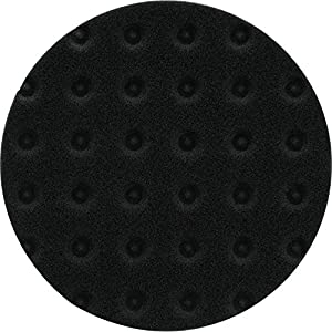 "Makita T-02680 5-1/2"" Hook & Loop Foam Polishing Pad, Black"