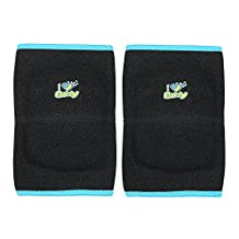 Decdeal Child Adjustable Knee Pads, Brace Support Knee Compression Sleeve Pads Crashproof Anti-Slip Sport Protector for Boys Girls Sport Dance Basketball Pink S