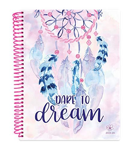 Daisy by bloom daily planners 2019-2020 Academic Year Student Day Planner (August 2019 - July 2020) - Elementary Through Middle School Monthly & Weekly Calendar Agenda Book - 7