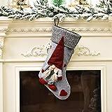 """WDNM Christmas Stockings, 18"""" Personalized Xmas"""