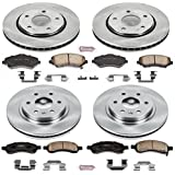Autospecialty KOE4466 1-Click OE Replacement Brake Kit