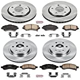 Automotive : Autospecialty KOE4466 1-Click OE Replacement Brake Kit