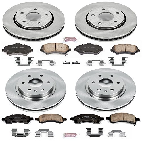 Brake And Pads Rotors - Autospecialty KOE4466 1-Click OE Replacement Brake Kit