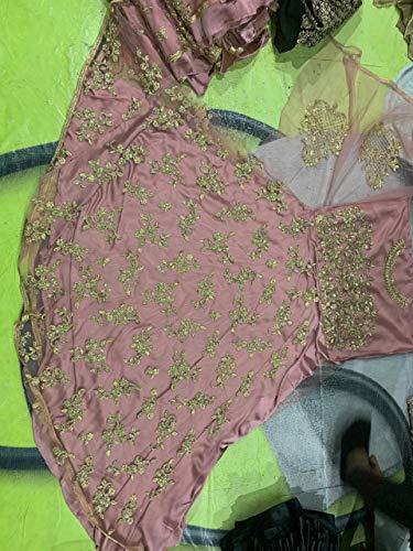 Diseñador Fashions Mujeres Salwar Traje Para Amit De Semi Exclusivo Indio Puntada HBxUOq6