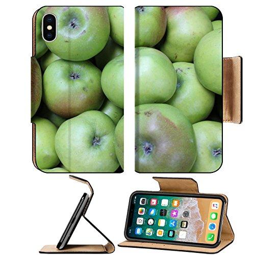 Kit Displ (MSD Premium Apple iPhone X Flip Pu Leather Wallet Case IMAGE ID: 28063211 Cooking Apples Displayed At Market England)