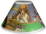 RNK Shops Dogs Playing Poker by C.M.Coolidge Coolie Lamp Shade