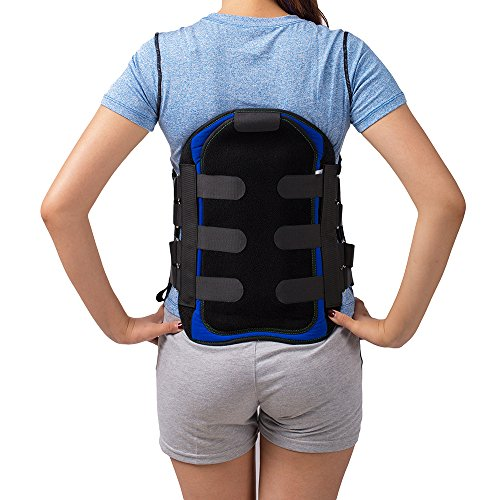Lumbar Sacral Back Brace Lumbosacral Corset Spinal Orthosis Support Belt LSO Brace (L) (Lumbar Support Sacral Belt)