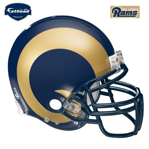 FATHEAD St. Louis Rams Helmet Wall Decal