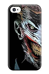 Flexible Tpu Back Case Cover For Iphone 4/4s - The Joker