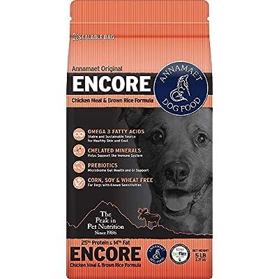 Annamaet Encore Formula Dry Dog Food - 25 lb
