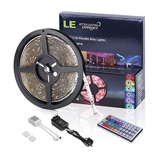 LE Waterproof 12V 16.4ft/5m Flexible RGB LED Strip Light