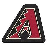 Fanmats MLB Arizona Diamondbacks Mascot Mat, Team Color, One Size