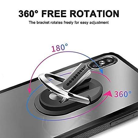 Mehrzweck-Handy-Halterung Halter Stehen 360 Grad Rotation f/ür Auto-Home Avalita Finger Ring Stand