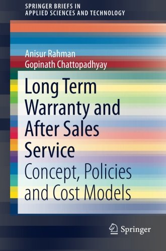 Long Term Warranty and After Sales Service: Concept, Policie