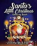 Santa's Little Christmas Coloring Book: A Coloring