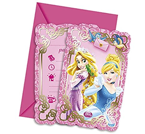 Disney Princess Rapunzel, Blancanieves y Co. Feliz cumpleaños guirnalda para el cumpleaños de los niños