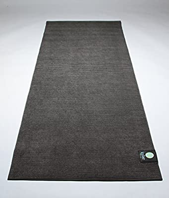 "Kulae Elite Hybrid 72""x24""x4mm Non-Slip Eco-Friendly Hot Yoga Mat/Towel Combo - Perfect for All Types of Yoga"