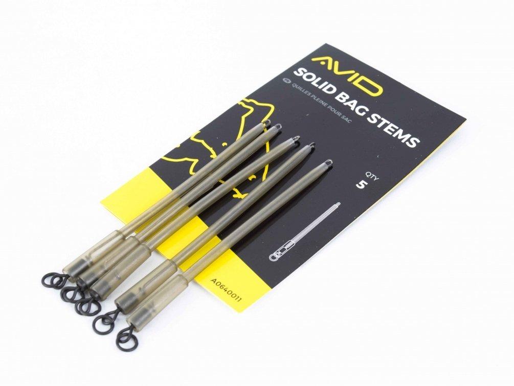 Avid Carp Outline Solid Bag Stems 5 st/ück