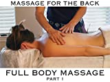 Massage for the Back