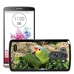 Etui Housse Coque de Protection Cover Rigide pour // M00116895 Loro de aves Animales // LG G3 VS985
