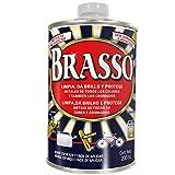 Brasso Limpia Metal plateado, 200ml