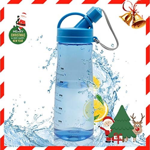 XL Water Bottle 1Liter, Leak Proof Plastic Sport Water Cup, BPA Free with Lid for Outdoor Sports Gym Workout Hiking & Office