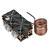 fosa 1800W Induction Heating Module ZVS Low Voltage 12V-48V Induction Heating Board Flyback Driver Heater DIY High Frequency Induction Heating Machine Module